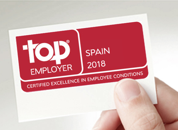 Top Employer Spain 2018
